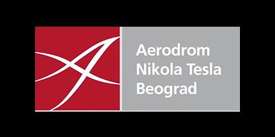 aerodrom nikola tesla logo